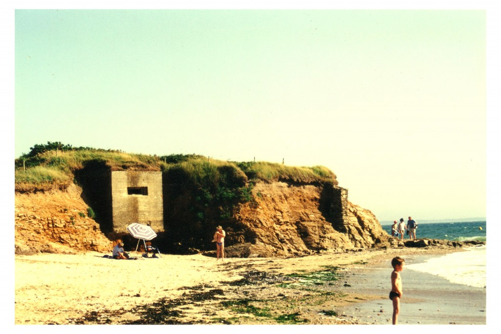 brittany beach bunker aged